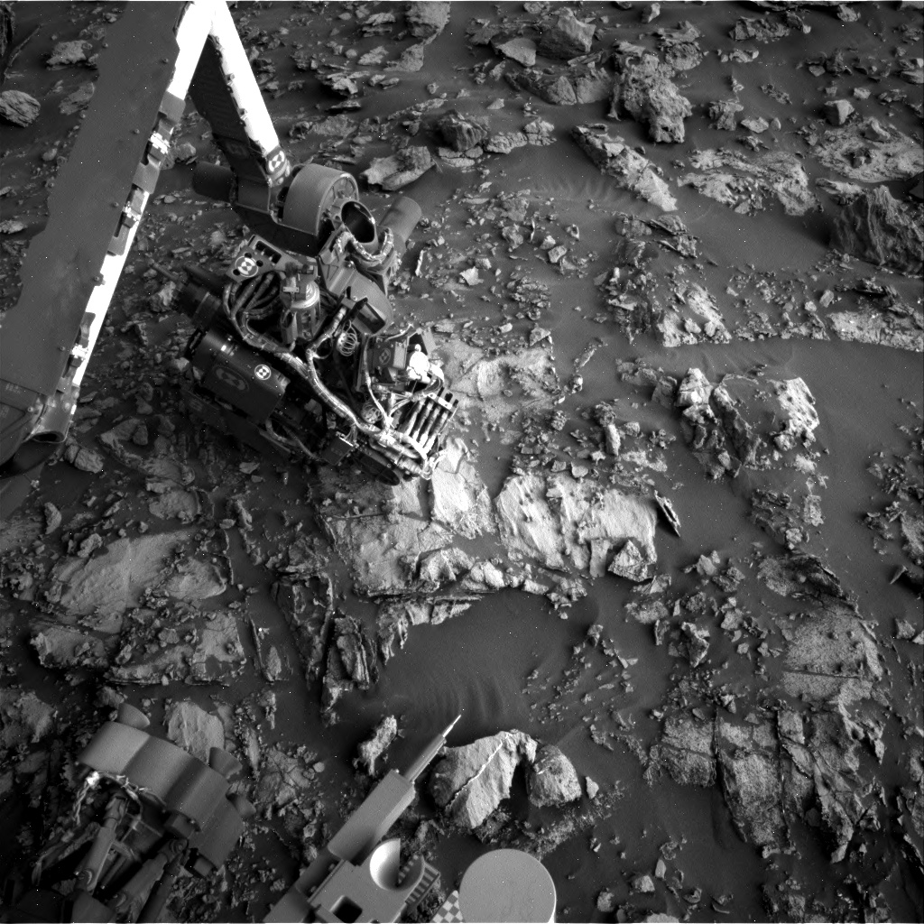Nasa's Mars rover Curiosity acquired this image using its Right Navigation Camera on Sol 2662, at drive 2858, site number 78