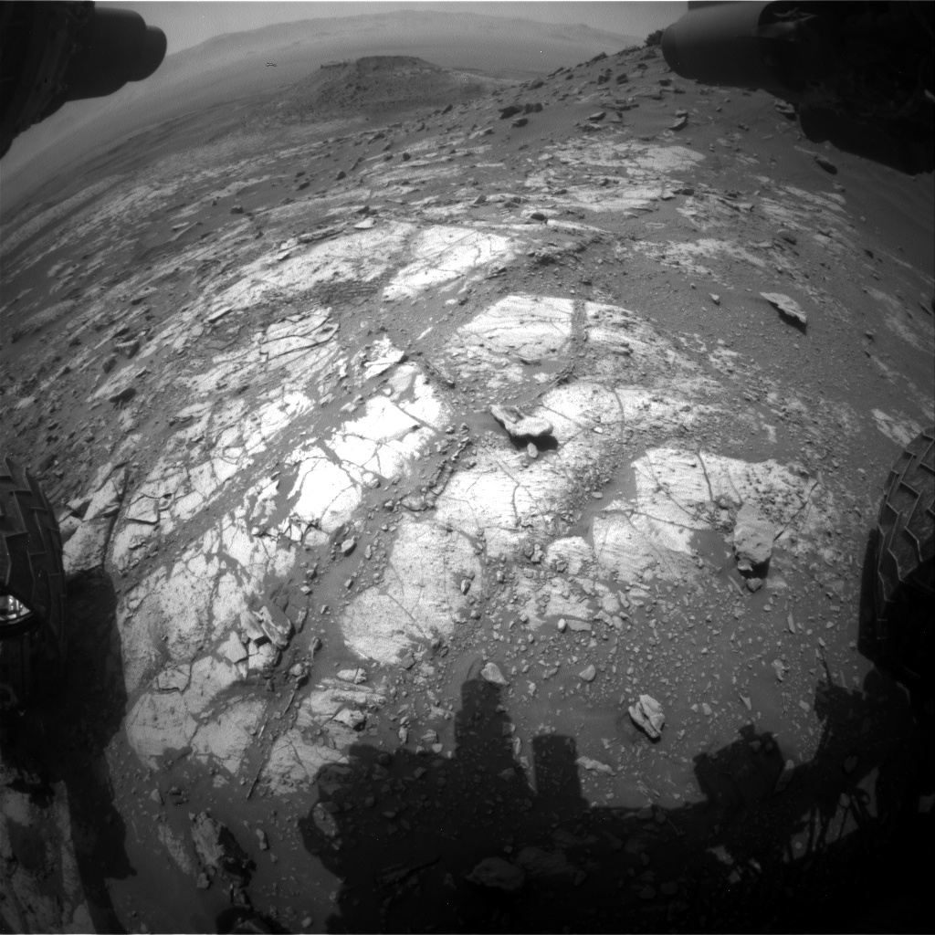 Nasa's Mars rover Curiosity acquired this image using its Front Hazard Avoidance Camera (Front Hazcam) on Sol 2664, at drive 2900, site number 78