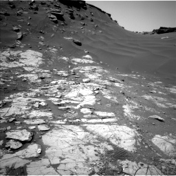 Nasa's Mars rover Curiosity acquired this image using its Left Navigation Camera on Sol 2664, at drive 2870, site number 78