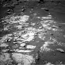 Nasa's Mars rover Curiosity acquired this image using its Left Navigation Camera on Sol 2664, at drive 2882, site number 78