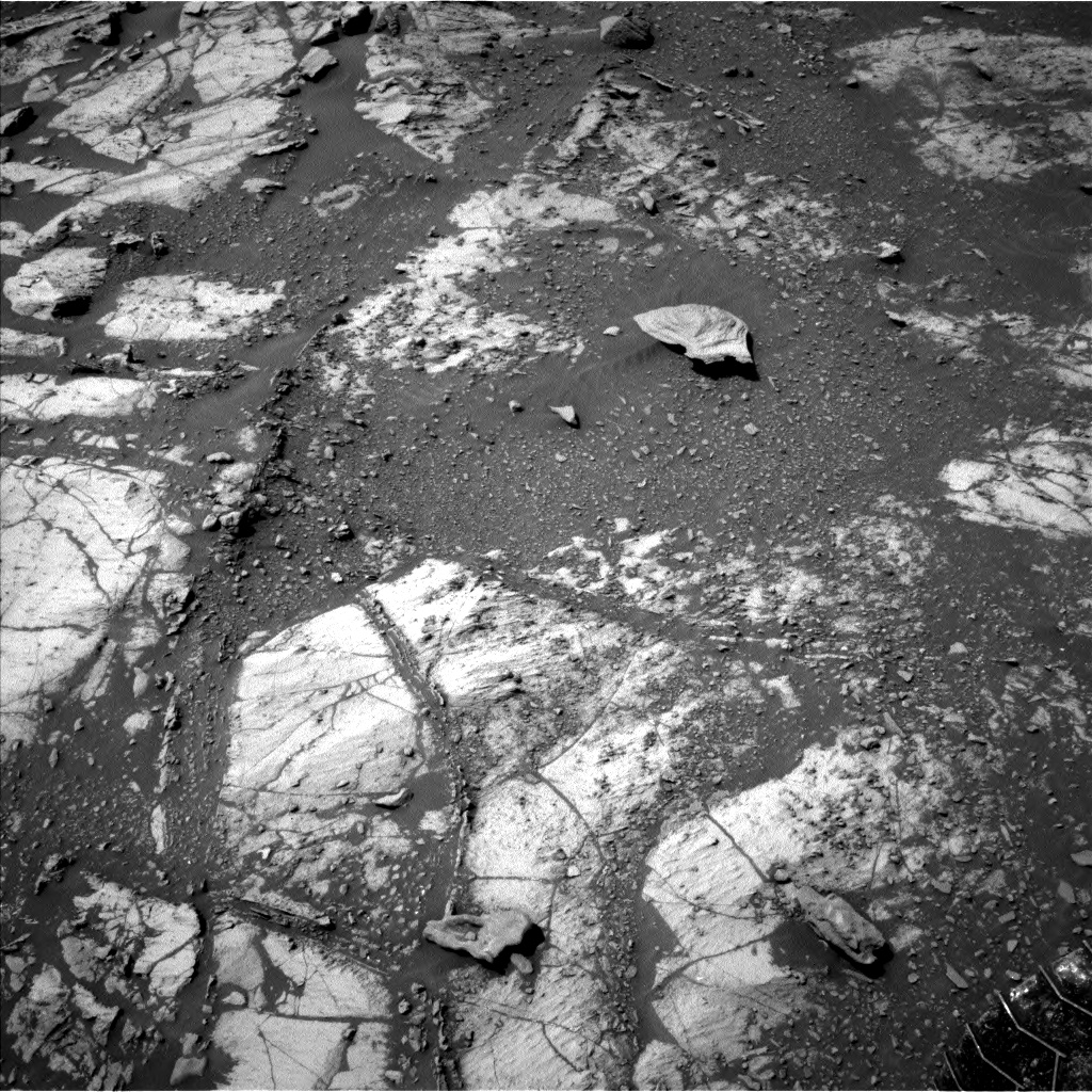 Nasa's Mars rover Curiosity acquired this image using its Left Navigation Camera on Sol 2664, at drive 2894, site number 78