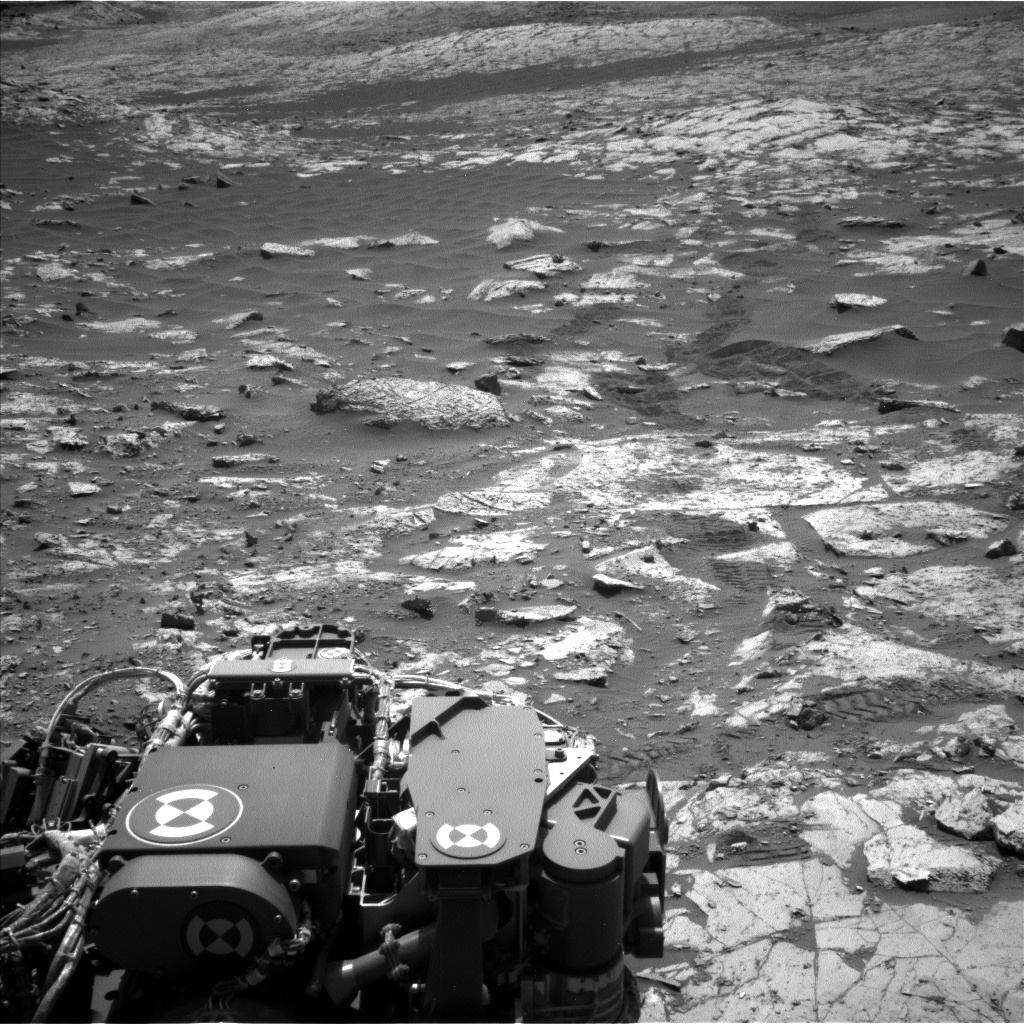 Nasa's Mars rover Curiosity acquired this image using its Left Navigation Camera on Sol 2664, at drive 0, site number 79