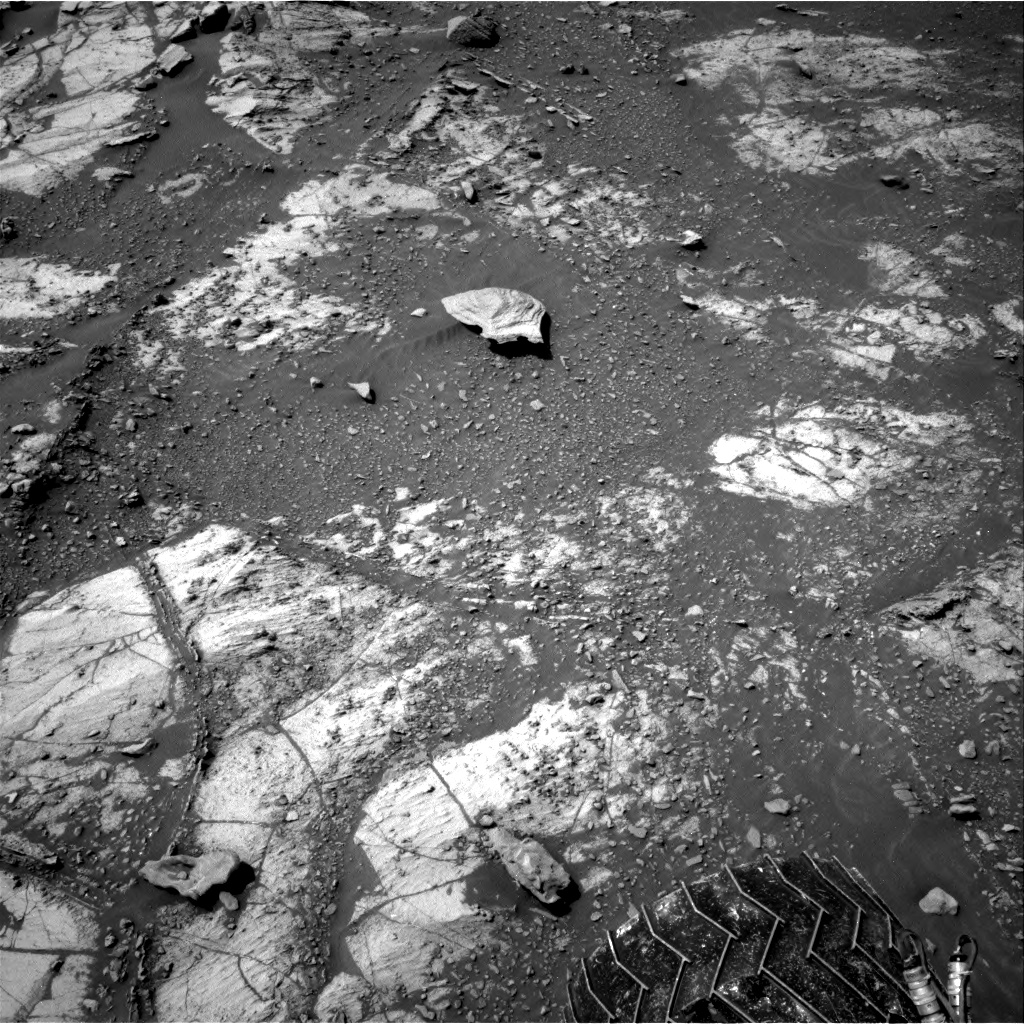 Nasa's Mars rover Curiosity acquired this image using its Right Navigation Camera on Sol 2664, at drive 2894, site number 78