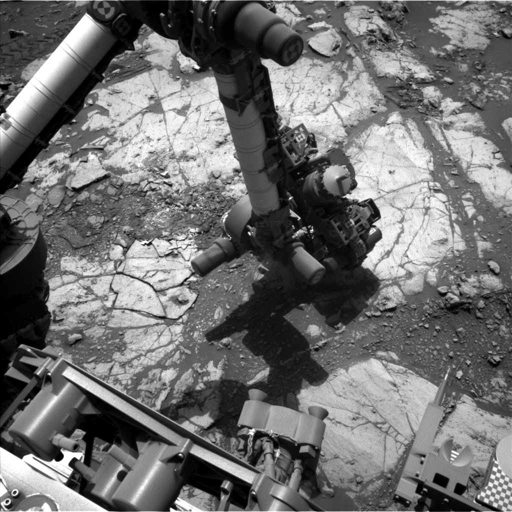 Nasa's Mars rover Curiosity acquired this image using its Left Navigation Camera on Sol 2665, at drive 0, site number 79