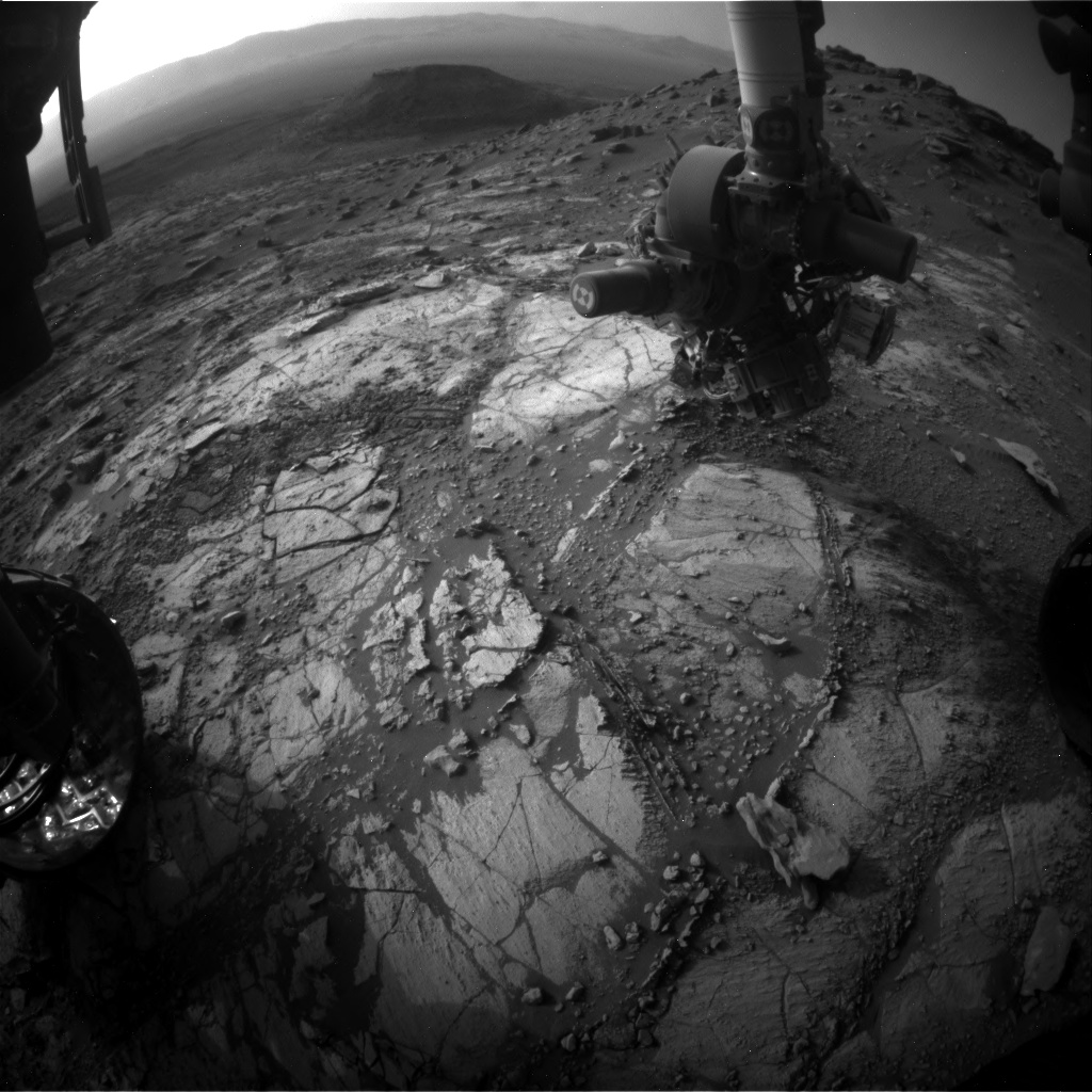 Nasa's Mars rover Curiosity acquired this image using its Front Hazard Avoidance Camera (Front Hazcam) on Sol 2666, at drive 0, site number 79