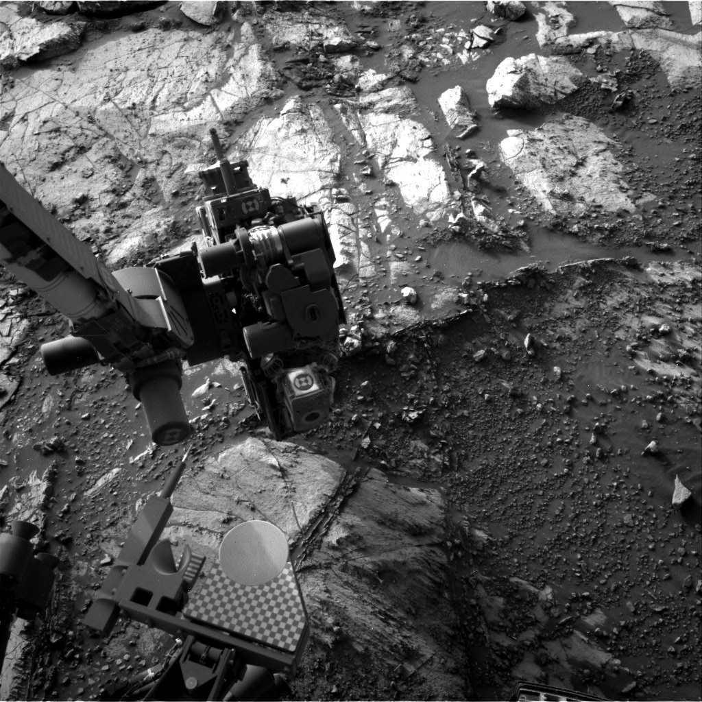 Nasa's Mars rover Curiosity acquired this image using its Right Navigation Camera on Sol 2666, at drive 0, site number 79