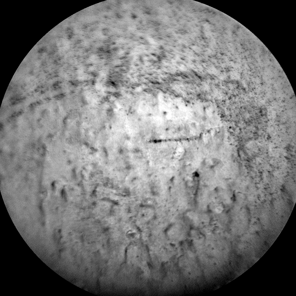 Nasa's Mars rover Curiosity acquired this image using its Chemistry & Camera (ChemCam) on Sol 2666, at drive 0, site number 79