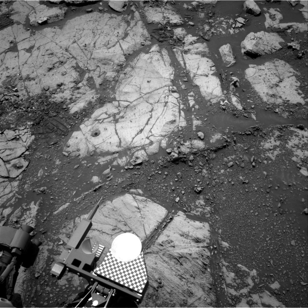 Nasa's Mars rover Curiosity acquired this image using its Right Navigation Camera on Sol 2668, at drive 0, site number 79