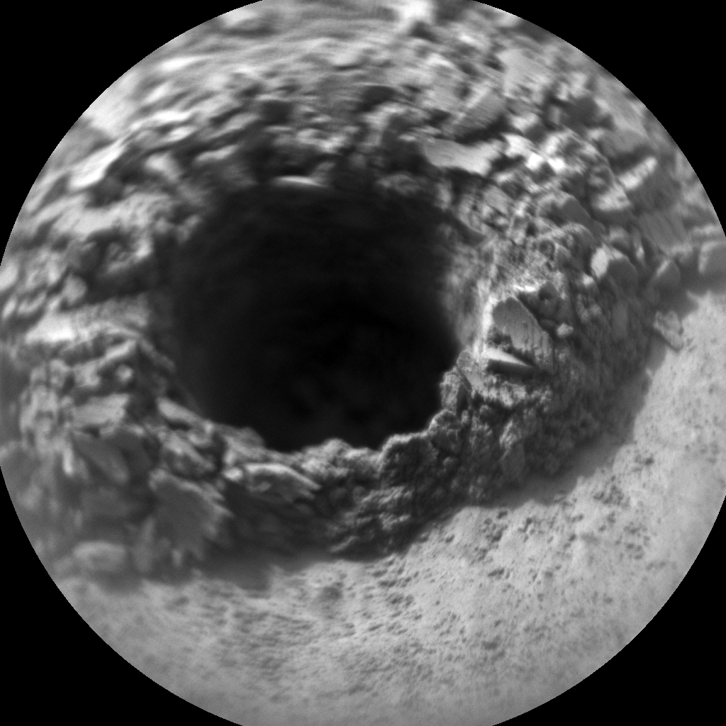 Nasa's Mars rover Curiosity acquired this image using its Chemistry & Camera (ChemCam) on Sol 2669, at drive 0, site number 79