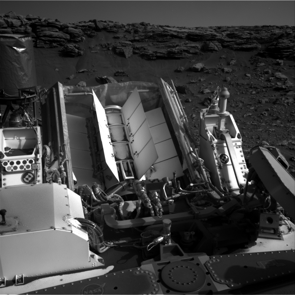 Nasa's Mars rover Curiosity acquired this image using its Right Navigation Camera on Sol 2671, at drive 0, site number 79