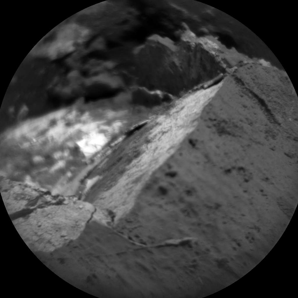 Nasa's Mars rover Curiosity acquired this image using its Chemistry & Camera (ChemCam) on Sol 2672, at drive 0, site number 79