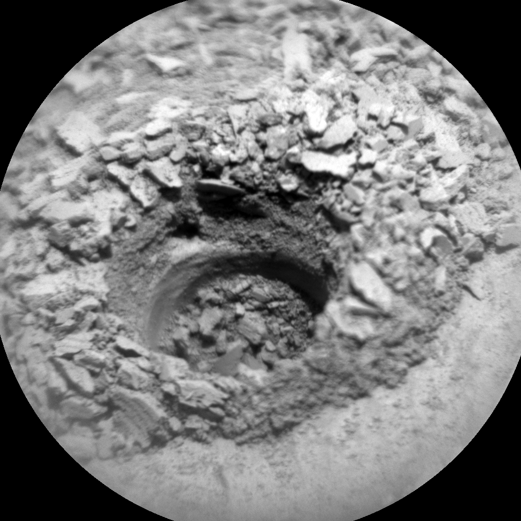Nasa's Mars rover Curiosity acquired this image using its Chemistry & Camera (ChemCam) on Sol 2680, at drive 0, site number 79