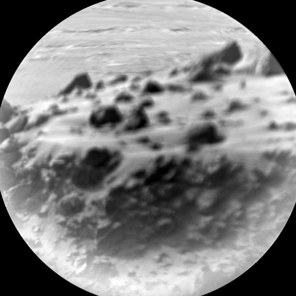 Nasa's Mars rover Curiosity acquired this image using its Chemistry & Camera (ChemCam) on Sol 2681, at drive 0, site number 79