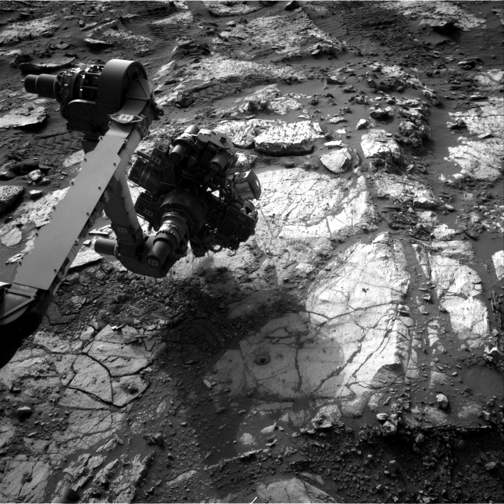 Nasa's Mars rover Curiosity acquired this image using its Right Navigation Camera on Sol 2684, at drive 0, site number 79