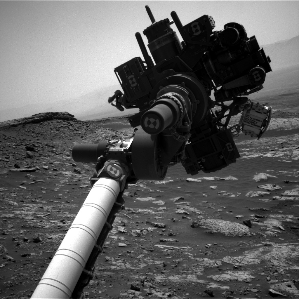 Nasa's Mars rover Curiosity acquired this image using its Right Navigation Camera on Sol 2687, at drive 0, site number 79
