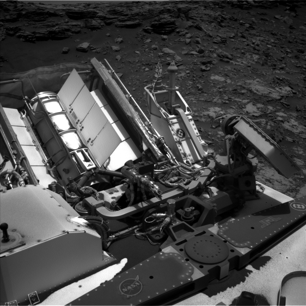 Nasa's Mars rover Curiosity acquired this image using its Left Navigation Camera on Sol 2688, at drive 0, site number 79