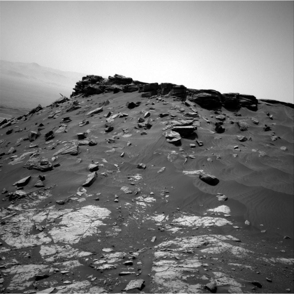 Nasa's Mars rover Curiosity acquired this image using its Right Navigation Camera on Sol 2688, at drive 0, site number 79
