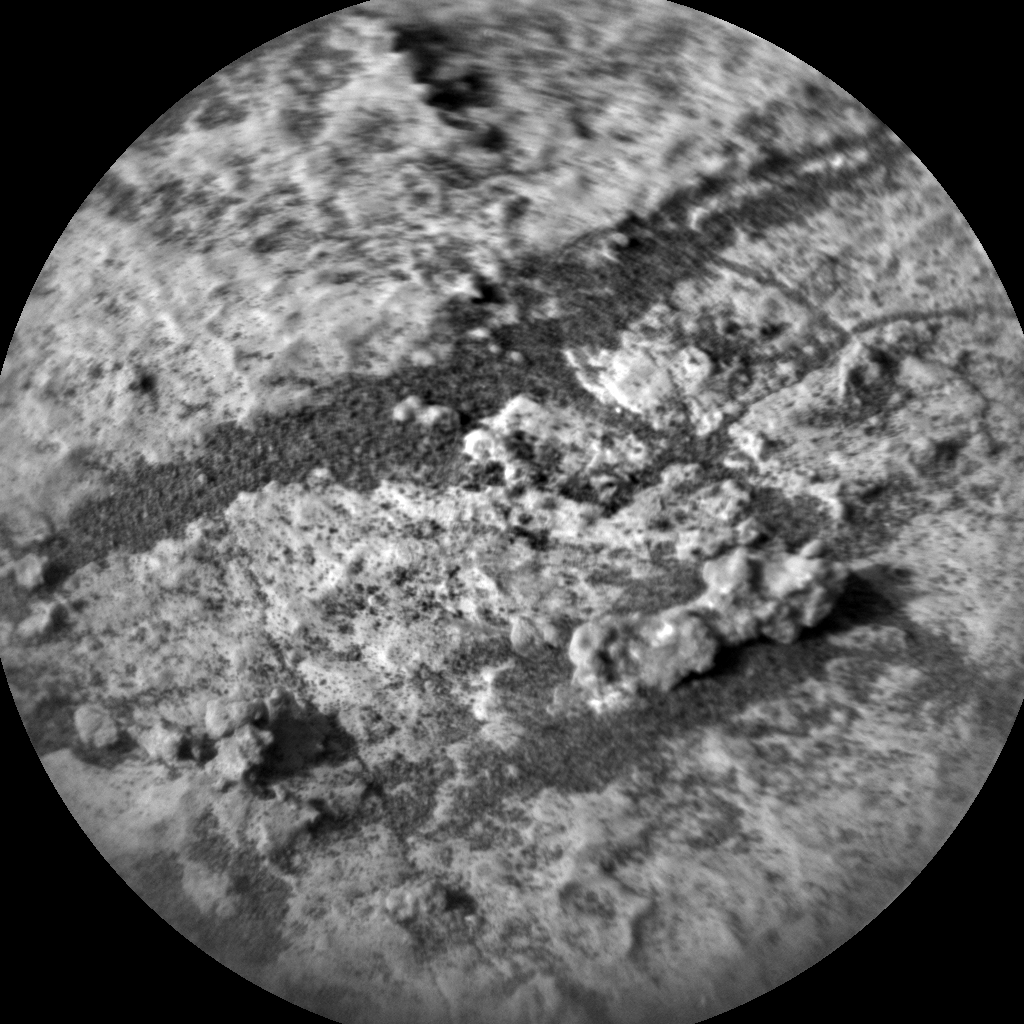 Nasa's Mars rover Curiosity acquired this image using its Chemistry & Camera (ChemCam) on Sol 2688, at drive 0, site number 79