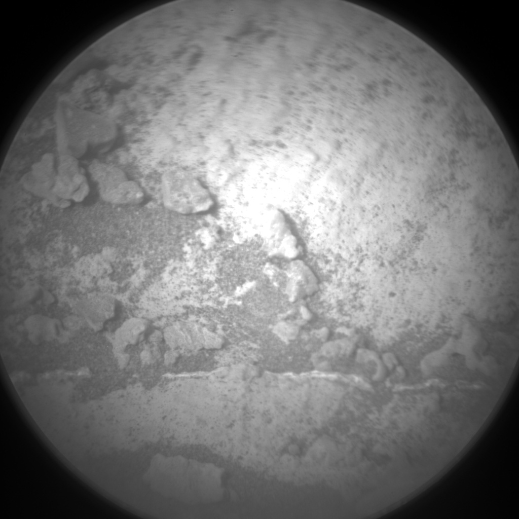 Nasa's Mars rover Curiosity acquired this image using its Chemistry & Camera (ChemCam) on Sol 2689, at drive 0, site number 79