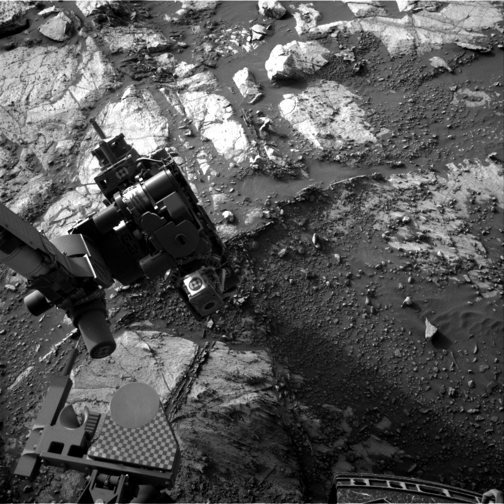 Nasa's Mars rover Curiosity acquired this image using its Right Navigation Camera on Sol 2690, at drive 0, site number 79