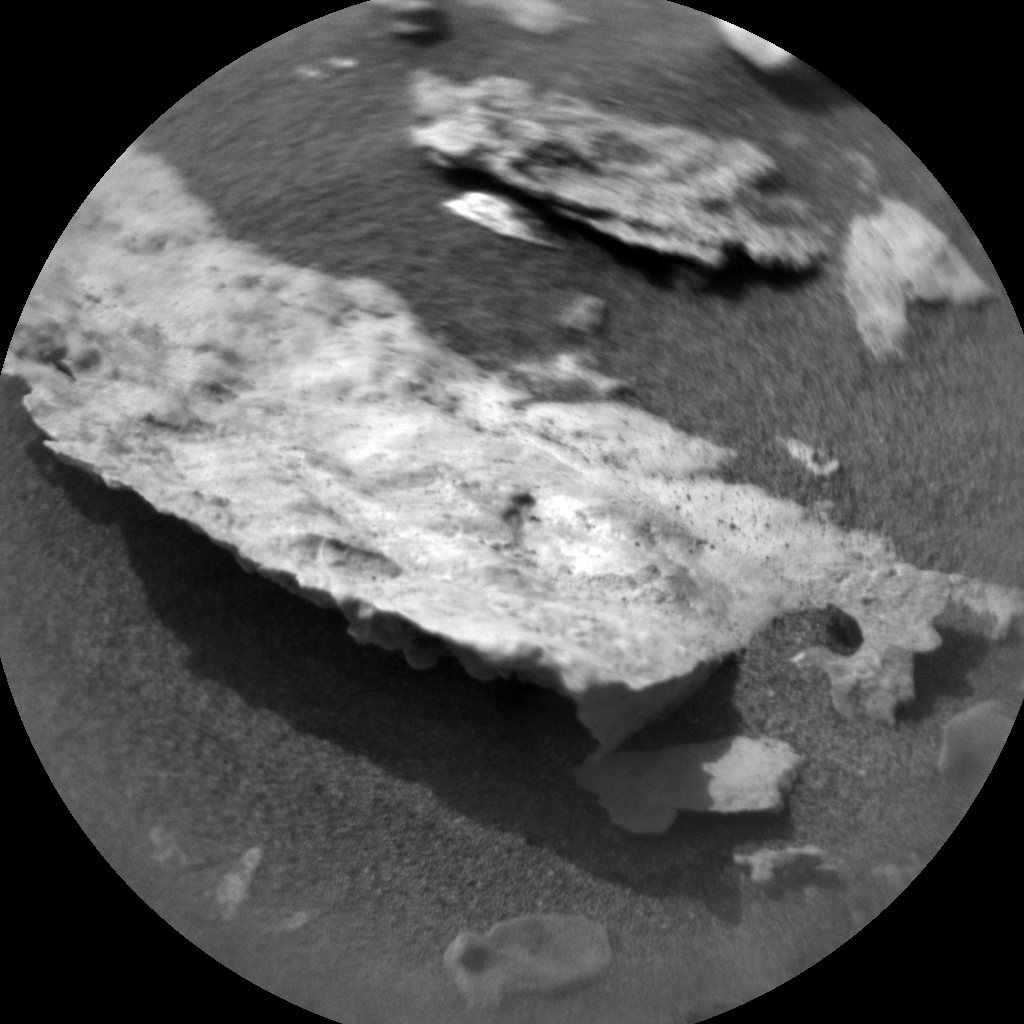 Nasa's Mars rover Curiosity acquired this image using its Chemistry & Camera (ChemCam) on Sol 2690, at drive 0, site number 79