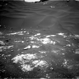 Nasa's Mars rover Curiosity acquired this image using its Left Navigation Camera on Sol 2691, at drive 0, site number 79