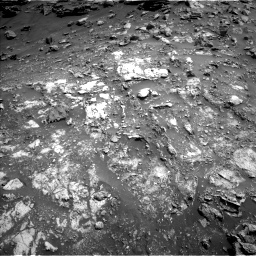 Nasa's Mars rover Curiosity acquired this image using its Left Navigation Camera on Sol 2691, at drive 48, site number 79