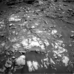 Nasa's Mars rover Curiosity acquired this image using its Left Navigation Camera on Sol 2691, at drive 60, site number 79