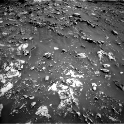 Nasa's Mars rover Curiosity acquired this image using its Left Navigation Camera on Sol 2691, at drive 72, site number 79