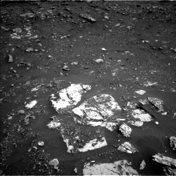 Nasa's Mars rover Curiosity acquired this image using its Left Navigation Camera on Sol 2691, at drive 114, site number 79