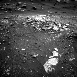 Nasa's Mars rover Curiosity acquired this image using its Left Navigation Camera on Sol 2691, at drive 144, site number 79