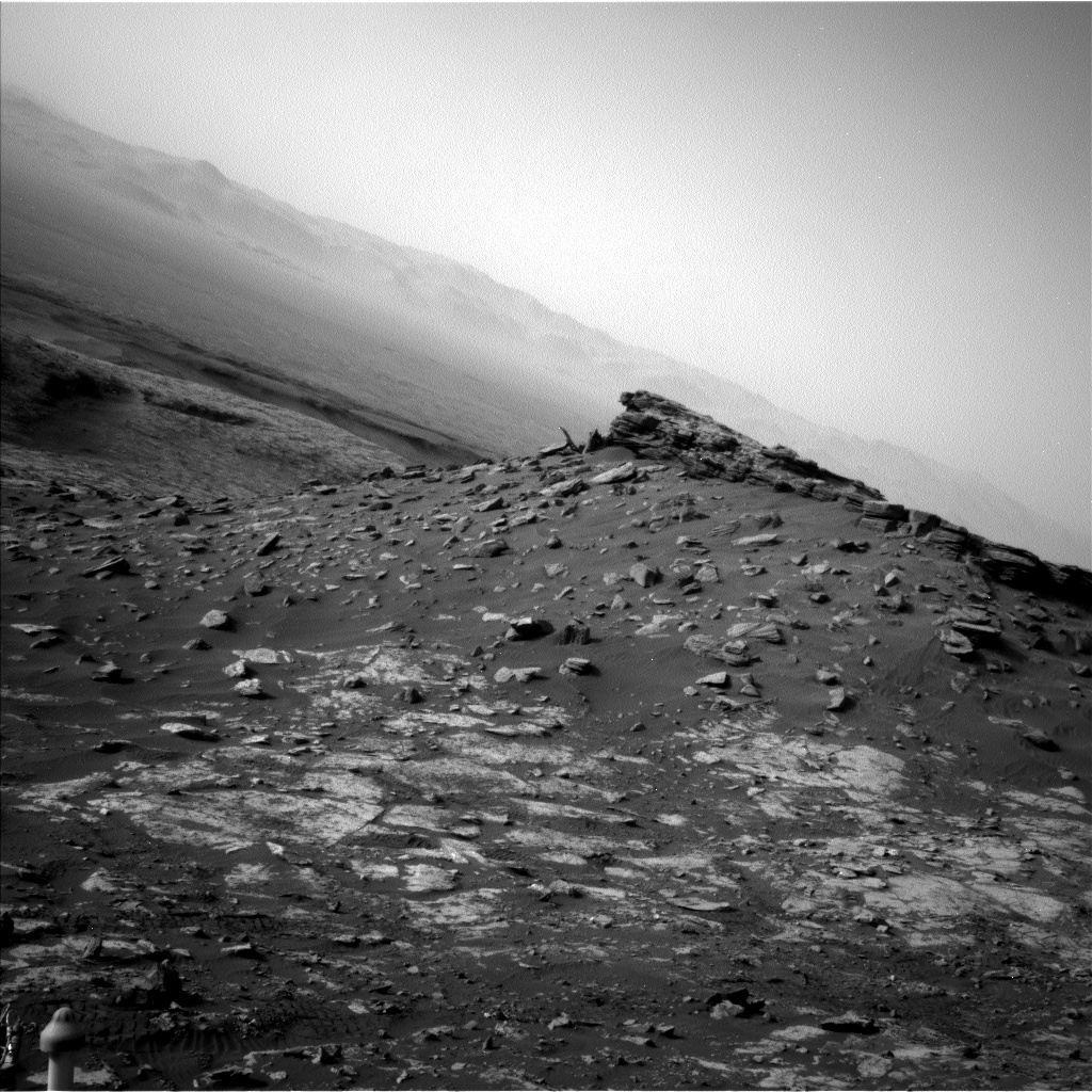 Nasa's Mars rover Curiosity acquired this image using its Left Navigation Camera on Sol 2691, at drive 228, site number 79