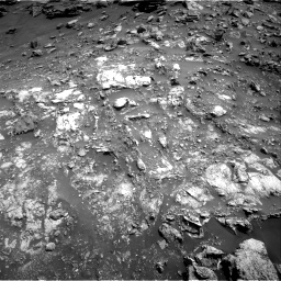 Nasa's Mars rover Curiosity acquired this image using its Right Navigation Camera on Sol 2691, at drive 48, site number 79
