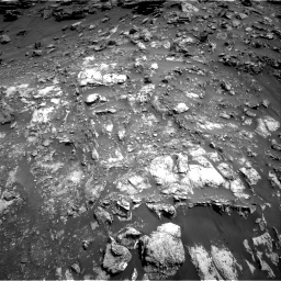 Nasa's Mars rover Curiosity acquired this image using its Right Navigation Camera on Sol 2691, at drive 54, site number 79