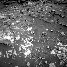 Nasa's Mars rover Curiosity acquired this image using its Right Navigation Camera on Sol 2691, at drive 66, site number 79