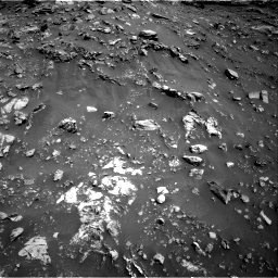 Nasa's Mars rover Curiosity acquired this image using its Right Navigation Camera on Sol 2691, at drive 72, site number 79