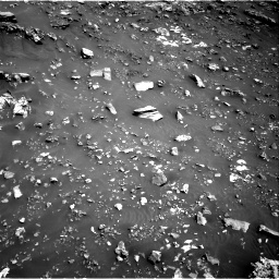Nasa's Mars rover Curiosity acquired this image using its Right Navigation Camera on Sol 2691, at drive 90, site number 79