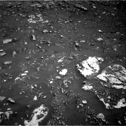 Nasa's Mars rover Curiosity acquired this image using its Right Navigation Camera on Sol 2691, at drive 102, site number 79