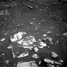 Nasa's Mars rover Curiosity acquired this image using its Right Navigation Camera on Sol 2691, at drive 114, site number 79
