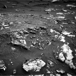 Nasa's Mars rover Curiosity acquired this image using its Right Navigation Camera on Sol 2691, at drive 126, site number 79