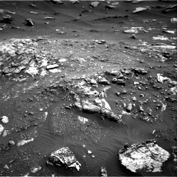 Nasa's Mars rover Curiosity acquired this image using its Right Navigation Camera on Sol 2691, at drive 132, site number 79