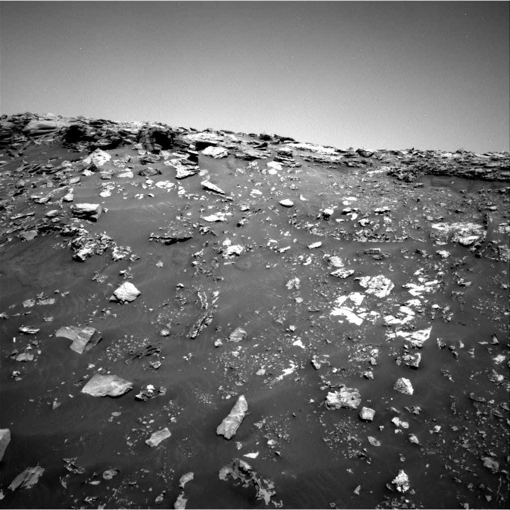 Nasa's Mars rover Curiosity acquired this image using its Right Navigation Camera on Sol 2691, at drive 144, site number 79