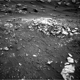 Nasa's Mars rover Curiosity acquired this image using its Right Navigation Camera on Sol 2691, at drive 156, site number 79