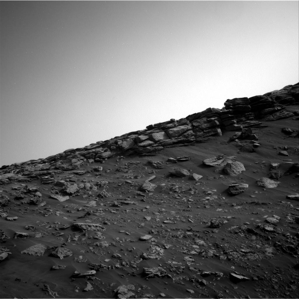 Nasa's Mars rover Curiosity acquired this image using its Right Navigation Camera on Sol 2691, at drive 228, site number 79