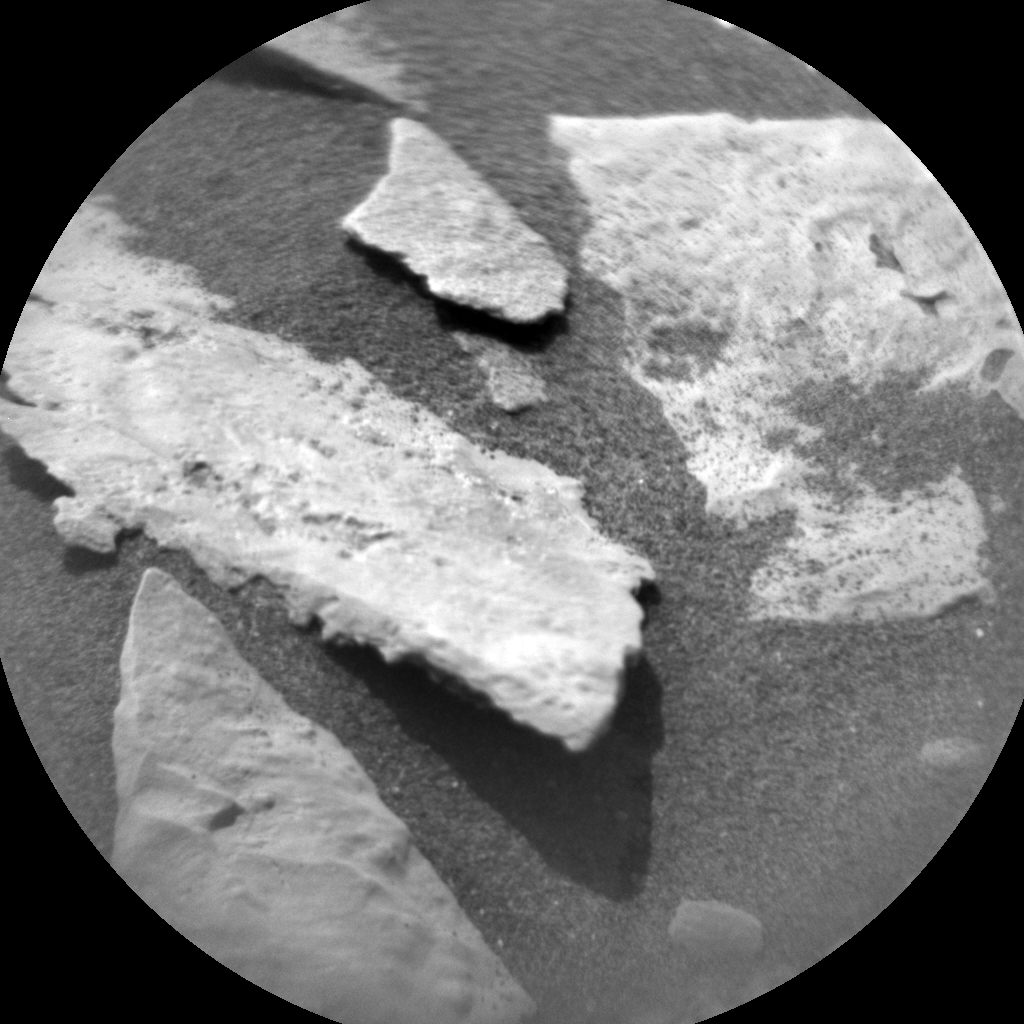 Nasa's Mars rover Curiosity acquired this image using its Chemistry & Camera (ChemCam) on Sol 2691, at drive 0, site number 79