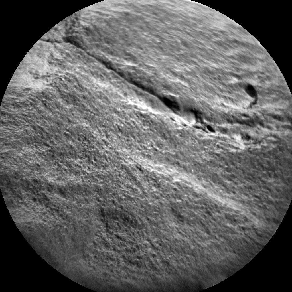 Nasa's Mars rover Curiosity acquired this image using its Chemistry & Camera (ChemCam) on Sol 2691, at drive 228, site number 79