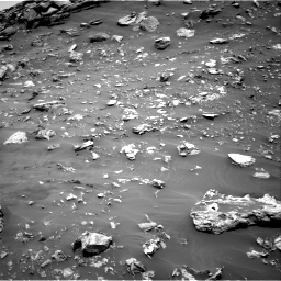 Nasa's Mars rover Curiosity acquired this image using its Right Navigation Camera on Sol 2692, at drive 240, site number 79