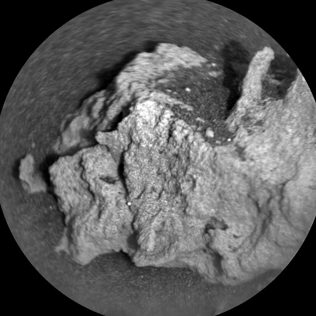 Nasa's Mars rover Curiosity acquired this image using its Chemistry & Camera (ChemCam) on Sol 2692, at drive 252, site number 79