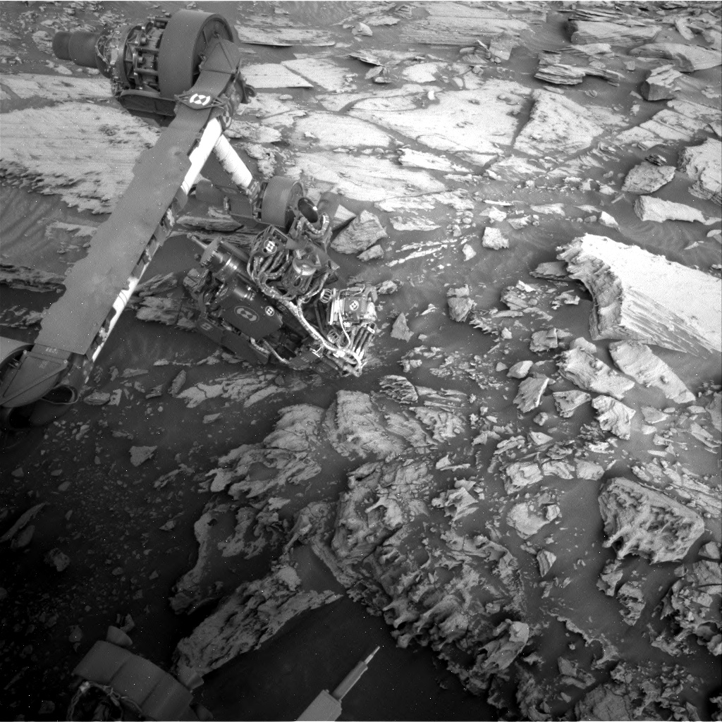 Nasa's Mars rover Curiosity acquired this image using its Right Navigation Camera on Sol 2694, at drive 294, site number 79