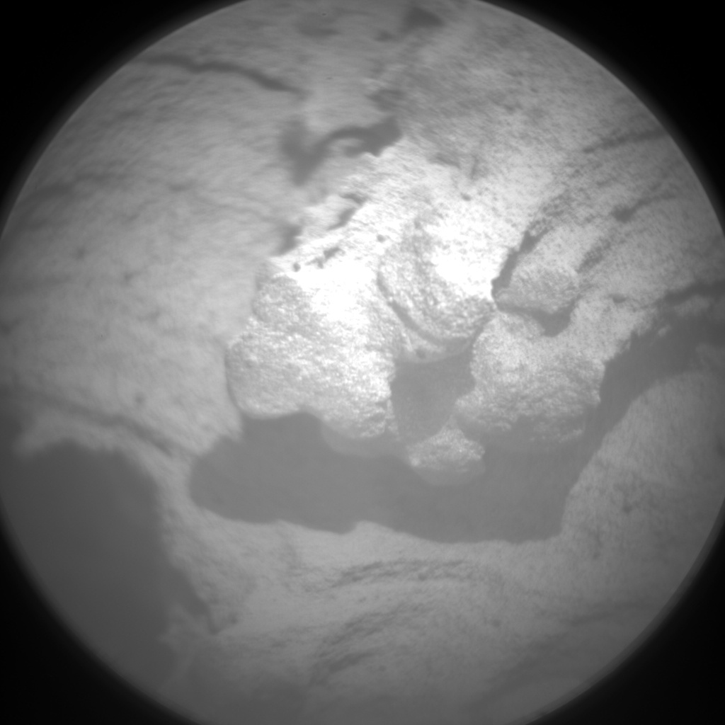 Nasa's Mars rover Curiosity acquired this image using its Chemistry & Camera (ChemCam) on Sol 2695, at drive 294, site number 79